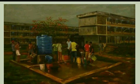 OAU Student's Spectacular Painting Goes Viral