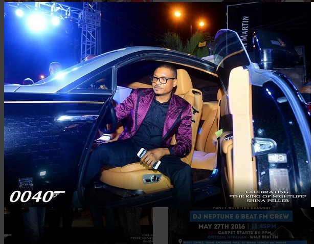 Late Magician's Son, Shina Peller Surrounded By 6 Gorgeous Ladies (See Photo)