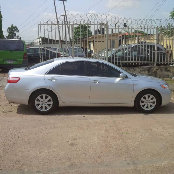 clean tokunbo 07 2008 toyota camry xle price slightly negotiable. Black Bedroom Furniture Sets. Home Design Ideas