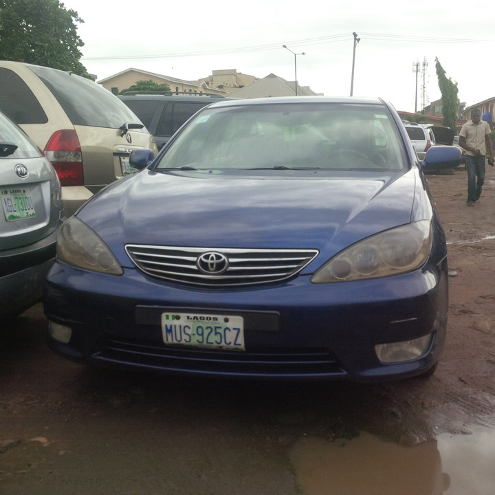 toyota camry 2005model for sale price call08131267376 autos nigeria. Black Bedroom Furniture Sets. Home Design Ideas
