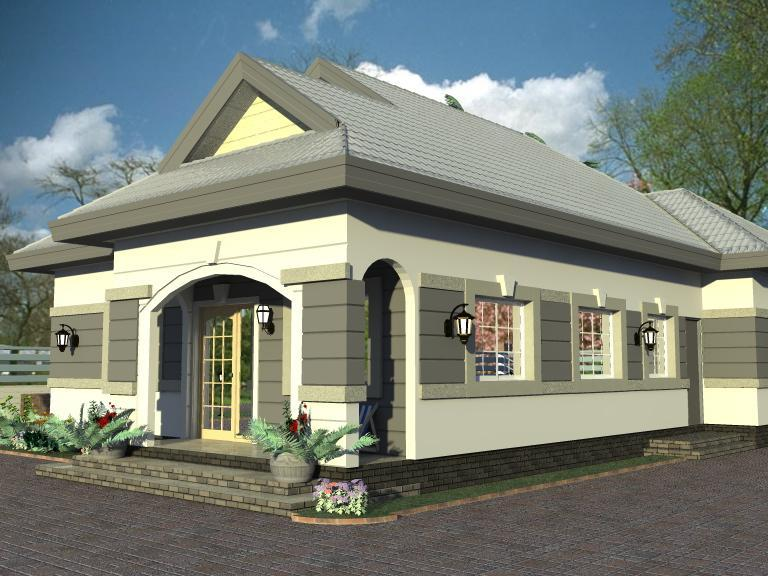 House plans and design architectural design for 3 bedroom 3 bedroom bungalow