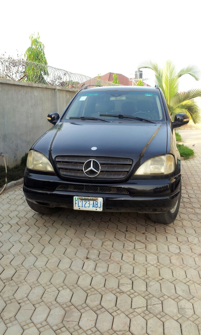 2005 mercedes ml320 for sale in abuja highly affordable for 2005 mercedes benz ml320