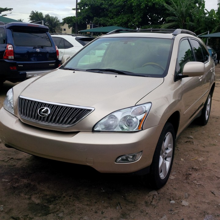 2007 lexus rx350 tokunbo for sale very cheap autos nigeria. Black Bedroom Furniture Sets. Home Design Ideas