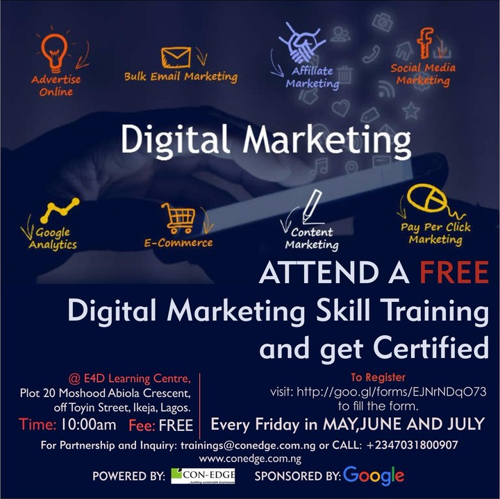 Free Google Digital Marketing Skill Training With Certification