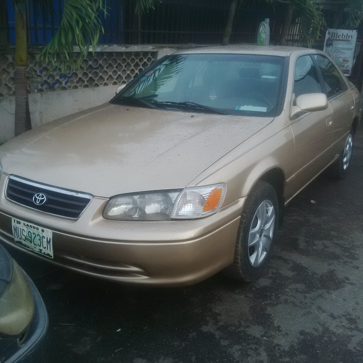 2001 Toyota Camry Still Very Much Available
