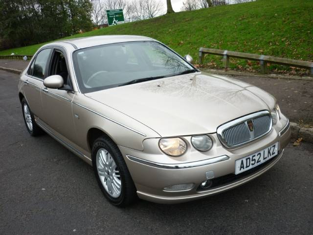 Cleanest Rover 75 For Sale Gold And Silver Colors