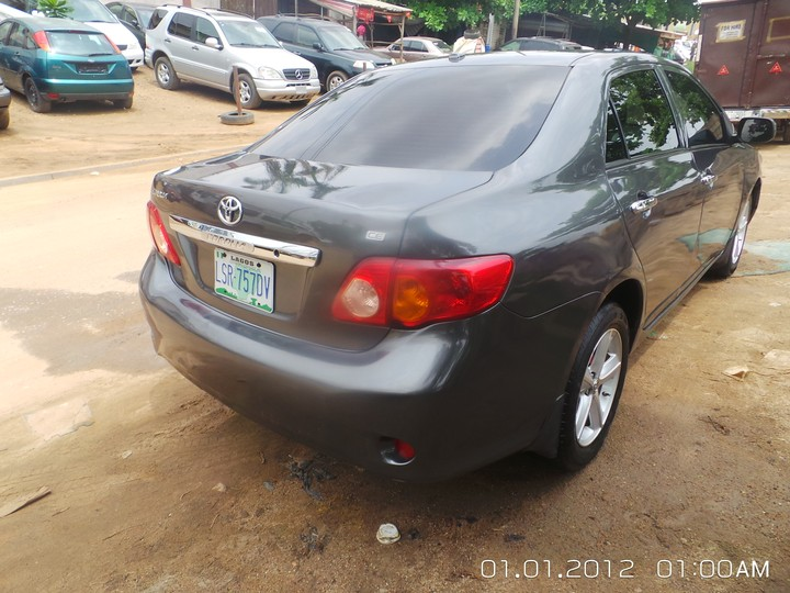 Toyota Corolla 2009 8 Month Used