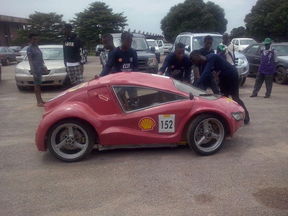 A Car Made By University Of Benin Students (photo) - Science ...