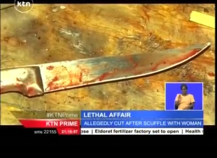 [Photos/video] Kenyan Prostitute Cuts Man's Manhood Off After He Refused To Pay For S*x