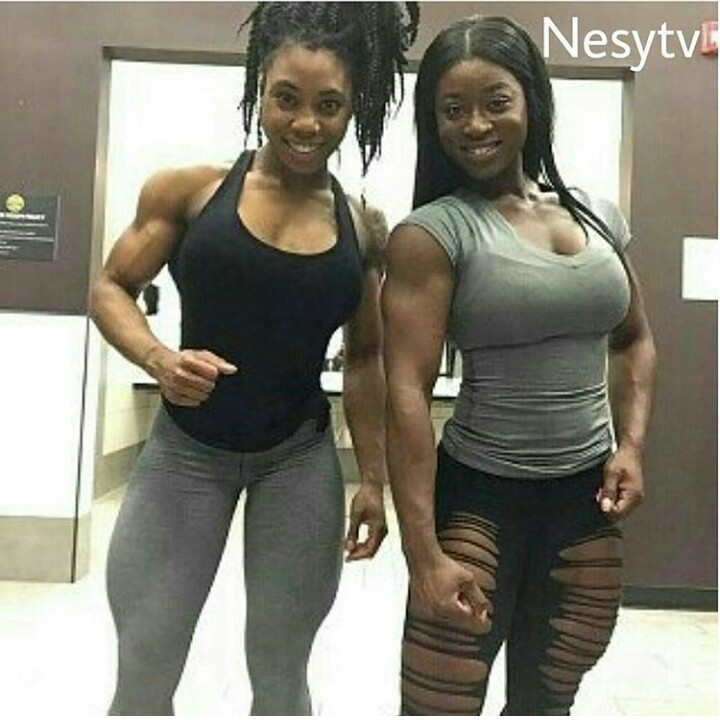 Lesbians with muscles