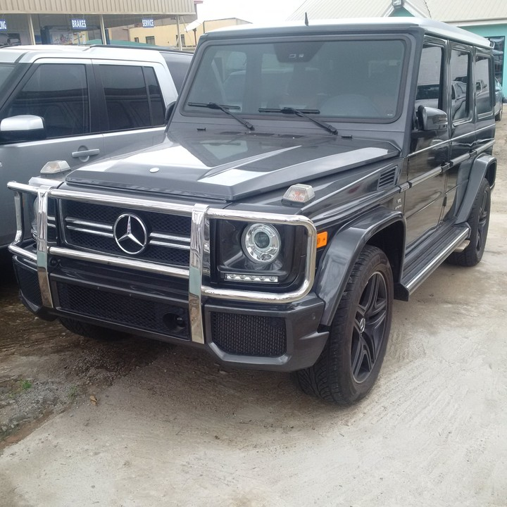 sold tokunbo upgraded 2008 mercedes benz g class autos. Black Bedroom Furniture Sets. Home Design Ideas