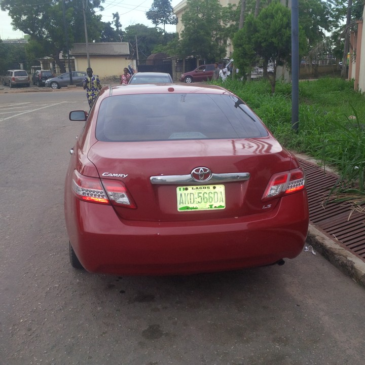2010 Toyota Camry For Sale: Toyota Camry Used 2010model For Sale 2.2m 08131267376