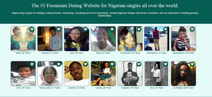 NaijaLoving will help you find that special someone Send messages to as  many people as you want for free. It doesn't matter where you are, ...