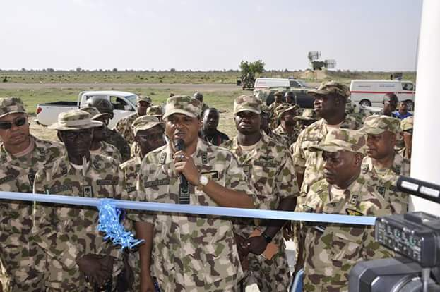 NAF Expands Yola Airport Apron, Conducts Eye Surgery On 2nd Batch Of IDPs (See Photos)