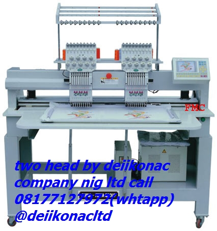 Selling New Industrial Embroidery Machines In Nigeria At Cheap Prices - Technology Market - Nigeria