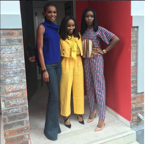 Ex Miss World, Agbani Darego Dazzles In Blue Top (See Photos)
