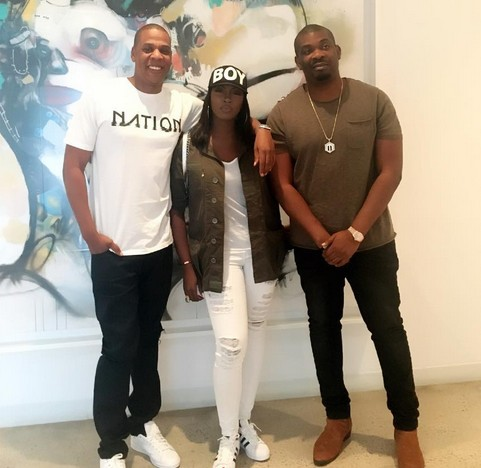 Tiwa Savage, Jay Z & Don Jazzy! See the Superstar Trio at