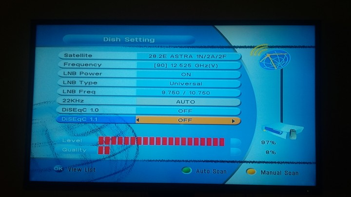 My Tv Frequency On Strong Decoder