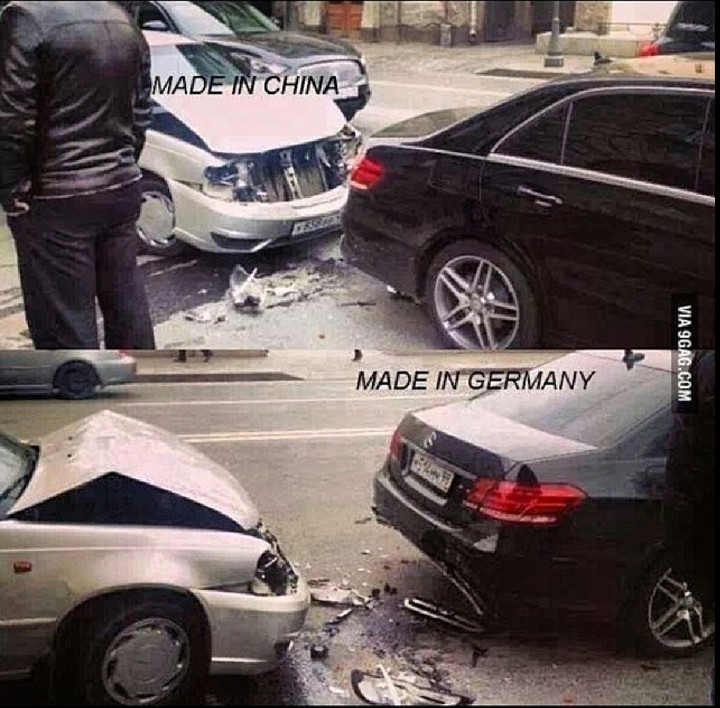 Caption These Photos Of Accidents Between German And