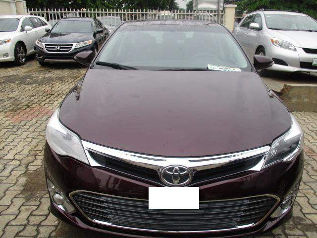 2014 toyota avalon for sale autos nigeria. Black Bedroom Furniture Sets. Home Design Ideas