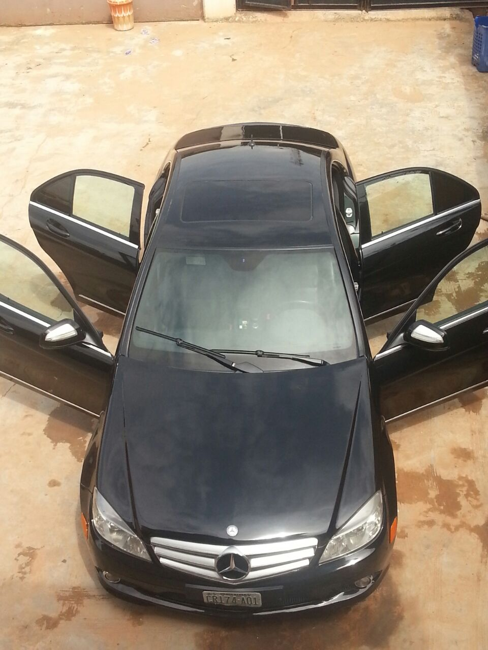 Extremely clean registered 2008 mercedes benz c350 for Mercedes benz inspection cost