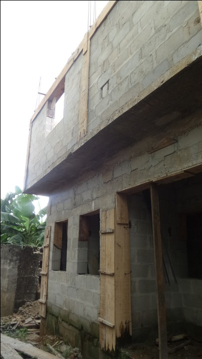 how we built the port harcourt  quot 4 bedroom duplex cost of wiring a 3 bedroom house in nigeria Wiring Schematics For Dummies