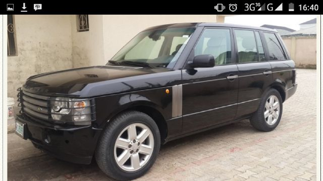 reg 05 range rover vogue for sale asking price. Black Bedroom Furniture Sets. Home Design Ideas