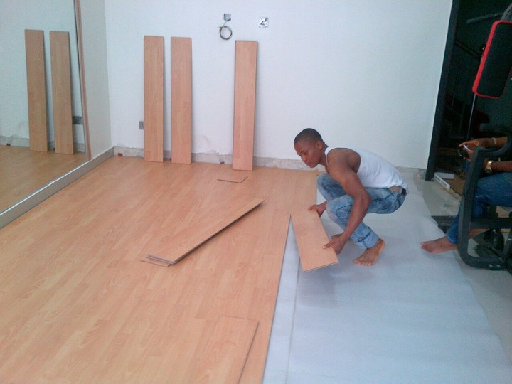Laminate Timber Floor closed - properties - nigeria