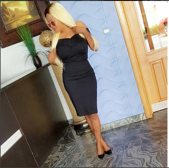 Actress Toyin Aimakhu Flaunts Her Blonde Hairstyle (See Photos)
