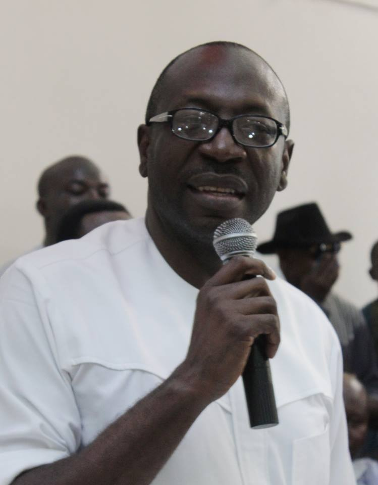 The Real Reason Edo PDP Flag Bearer, Pastor Ize-Iyamu Fell Out With Oshiomhole