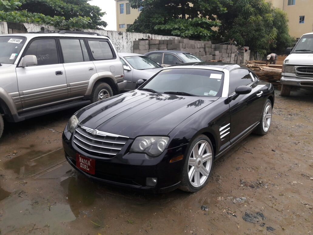 what is the price of a chrysler crossfire