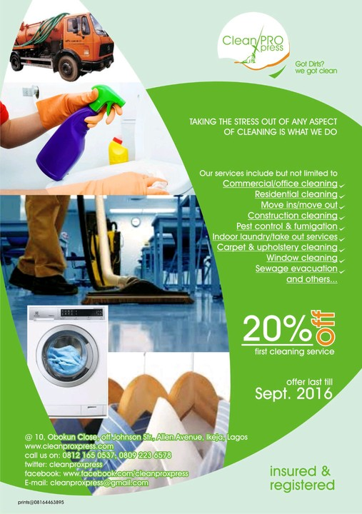List Of Some Tested And Trusted Companies Offering Cleaning Services ...