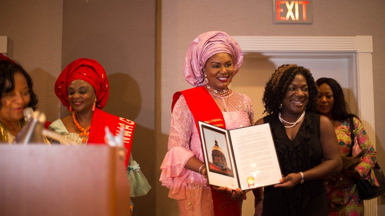 Anambra First Lady Bags Honorary Award in Atlanta (Photos)