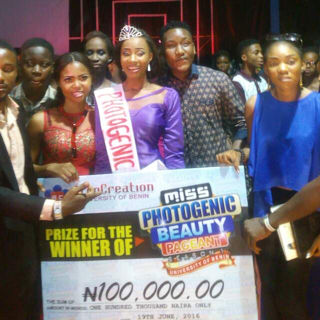 Checkout The Winner Of UNIBEN Miss Photogenic 2016 Pageant (See Photos)