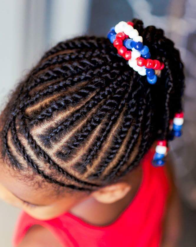 Natural Hair Styles Kids Braiding Specially For Your Cute S You
