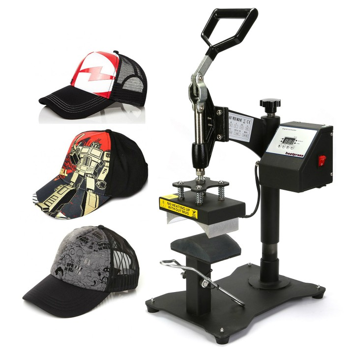 Cap Heat Press Machine With Automatic Timer Technology
