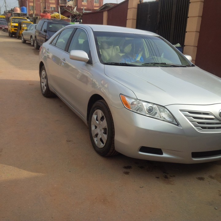 lagos cleared american spec 2008 model toyota camry. Black Bedroom Furniture Sets. Home Design Ideas