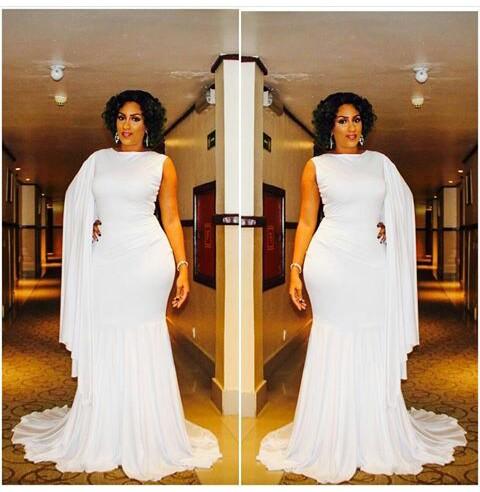 Juliet Ibrahim Stuns In All White As She Host The Missnigerianqueen 2016 In Port-Harcourt
