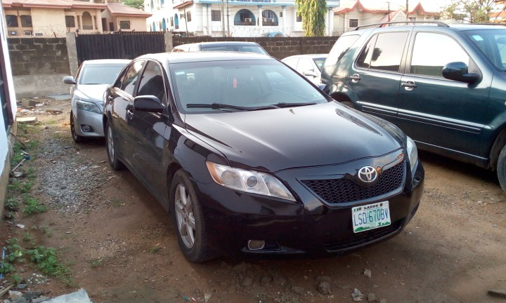 toyota camry sport 2008 autos nigeria. Black Bedroom Furniture Sets. Home Design Ideas