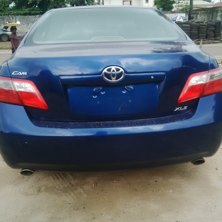 tokunbo toyota camry xle 2007 thumb start for sale autos nigeria. Black Bedroom Furniture Sets. Home Design Ideas