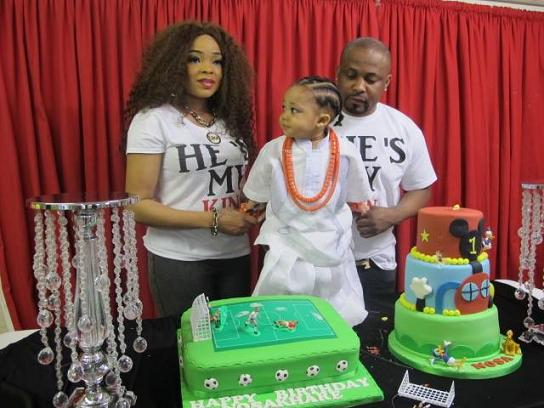 See Photos From Superlative 1 Year Old Birthday Party Of An Edo Prince