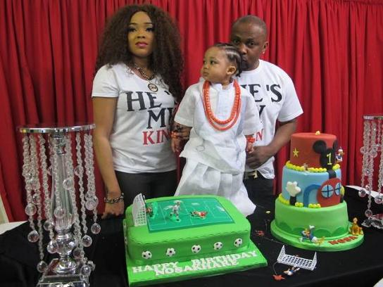 Nosa Khare 1 Year Old Birthday Party Of An Edo Prince