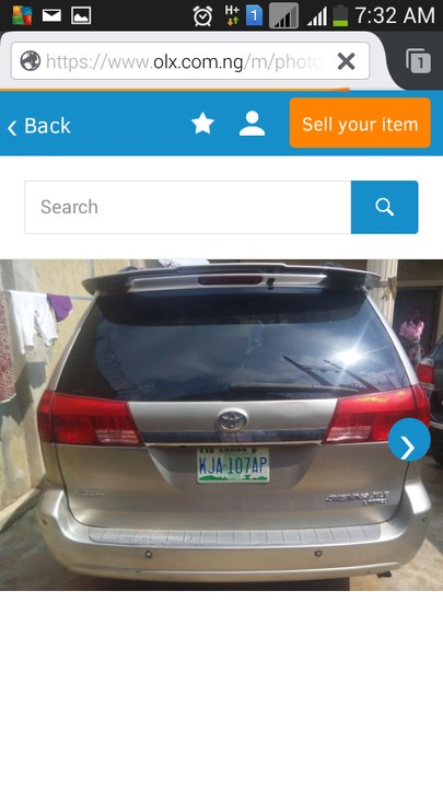 Foreign Used Rav4 Price >> Price reduced-Top Clean 2005 Toyota Sienna Xle Limited Fullest Option - Autos - Nigeria