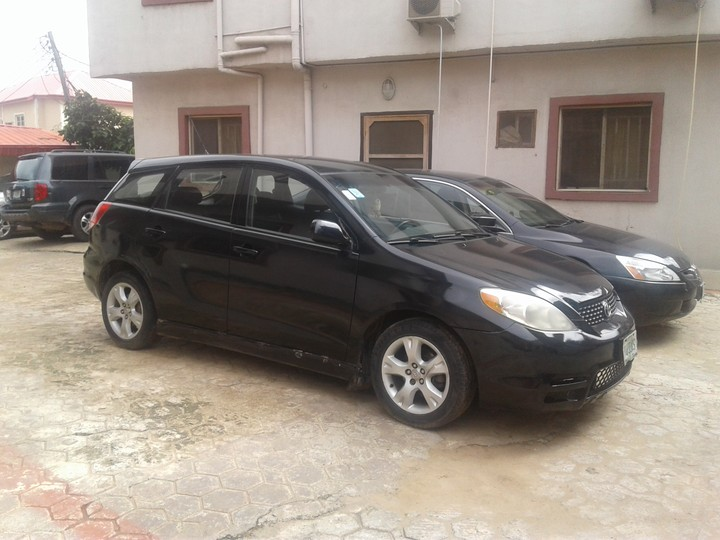 registered well used toyota matrix 2003 for sale at n1m autos nigeria. Black Bedroom Furniture Sets. Home Design Ideas