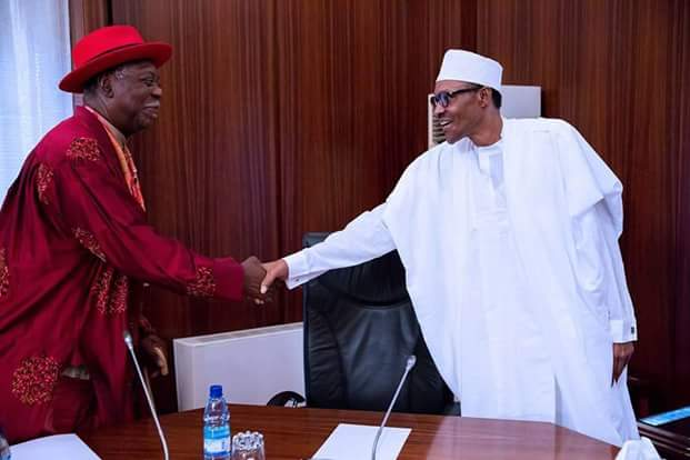 Buhari Meets Niger Delta Chiefs Over Militancy (Photos)