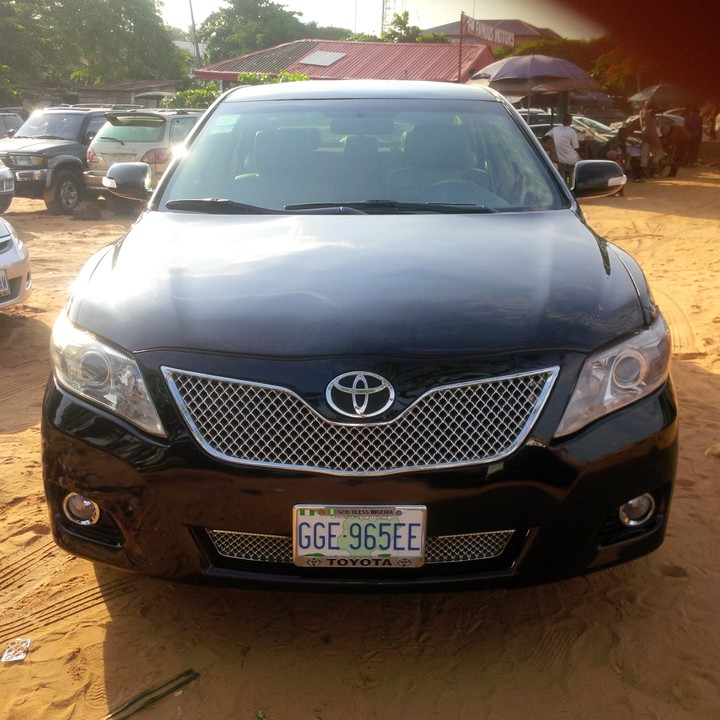 2008 upgraded to 2010 toyota camry registered for sale autos nigeria. Black Bedroom Furniture Sets. Home Design Ideas