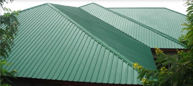 Quality Imported And Oven Baked Nigerian Aluminium Roofing