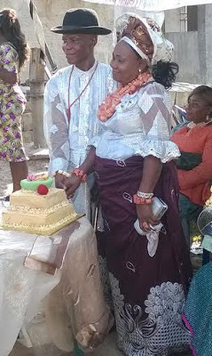 Nigerian Couple Reconcile 31 Years After Divorce, Check Out The Photos