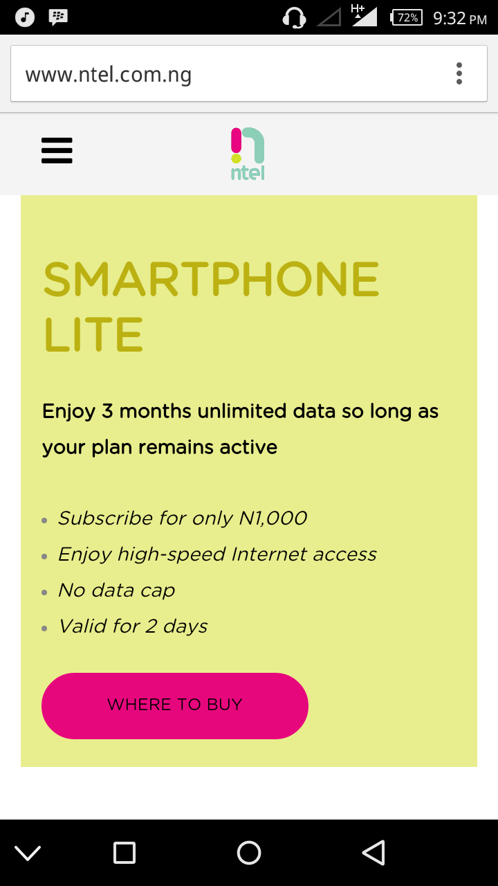 Subscriber Options for UNLIMITED Internet - WORTH IT