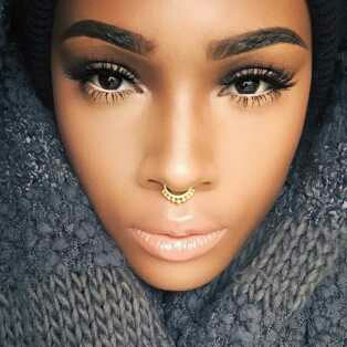 What S Your Take On Ladies With Nose Rings Fashion Nigeria